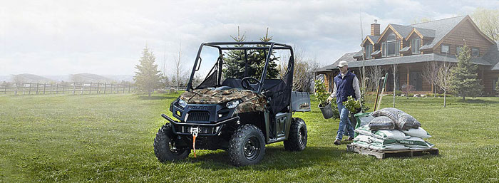 2013 Polaris Ranger 500 EFI Magnetic Metallic LE