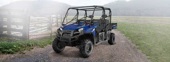 2013 Polaris Ranger Crew 800 Blue Fire LE