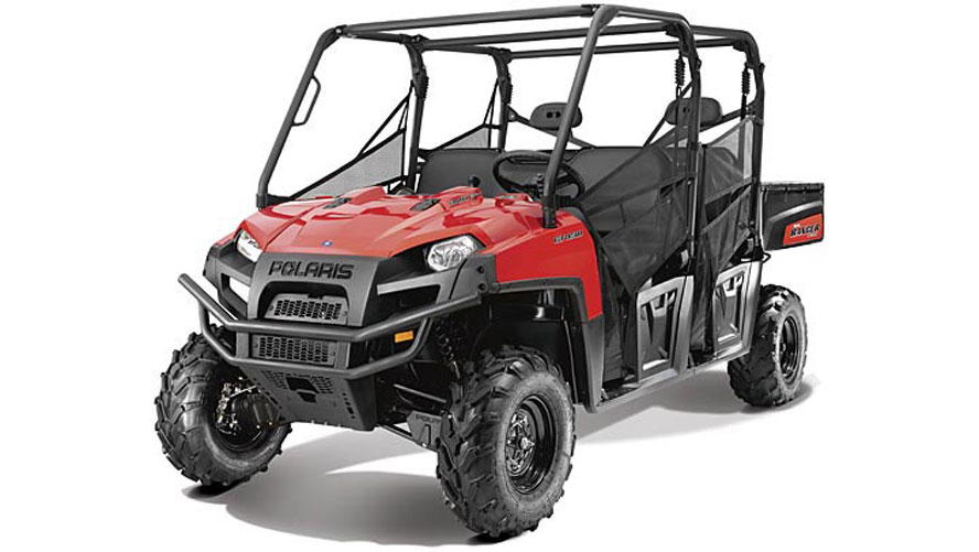 polaris ranger 800 crew moto atv autoevolution specs side