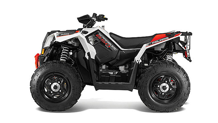 2013 Polaris Scrambler XP850 HO Bright White