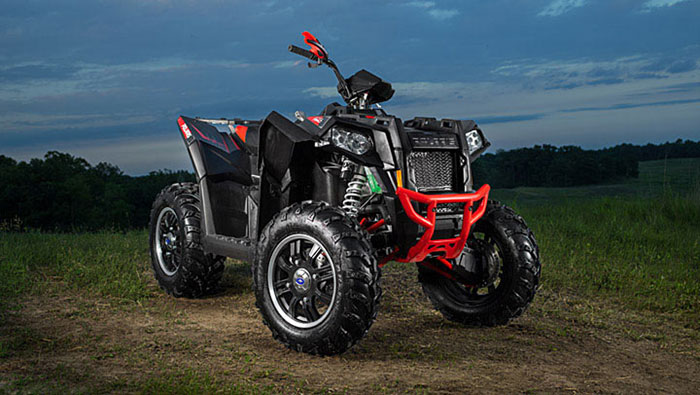 2013 Polaris Scrambler XP850 HO EPS Stealth Black LE
