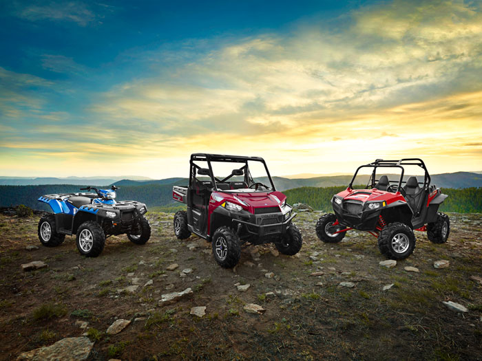2013 Polaris ATV Family