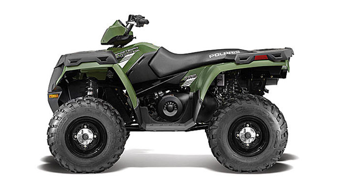 2013 Polaris Sportsman 400 HO Sage Green