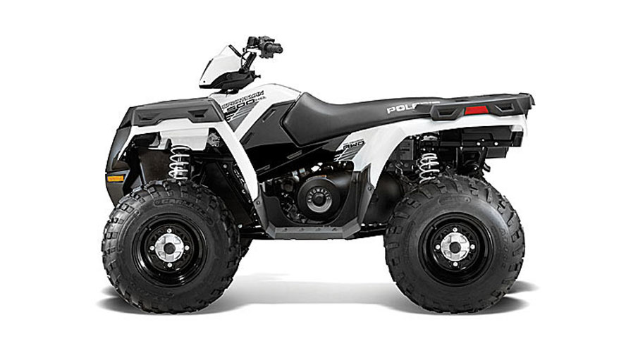 2013 Polaris Sportsman 500 HO Bright White