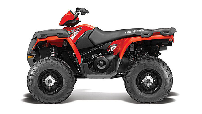 2013 Polaris Sportsman 500 HO Indy Red