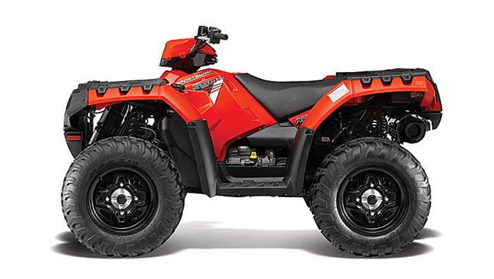 2013 Polaris Sportsman 550 Indy Red