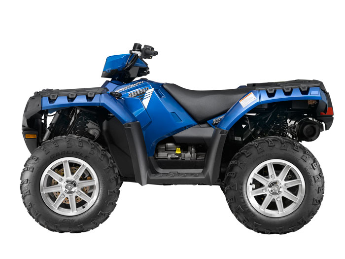 2013 Polaris Sportsman 550 EPS Blue Fire
