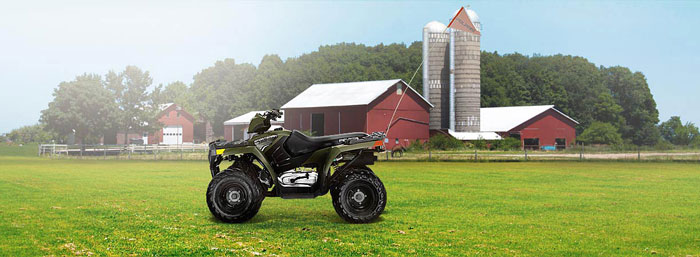 2013 Polaris Sportsman 90 Green