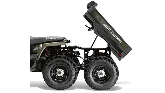 2013 Polaris Sportsman Big Boss 6x6 800 Sage Green