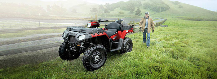 2013 Polaris Sportsman X2 550 Indy Red