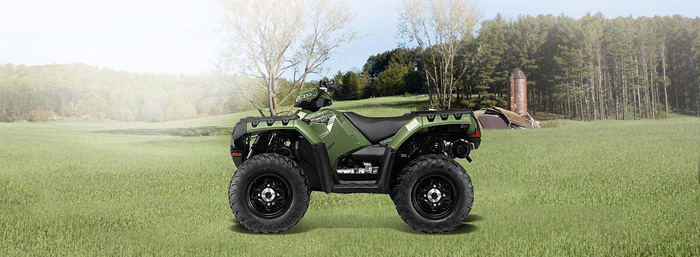 2013 Polaris Sportsman XP850 HO Sage Green