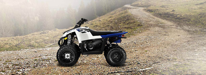 2013 Polaris Trail Blazer 330 Boardwalk Blue/White