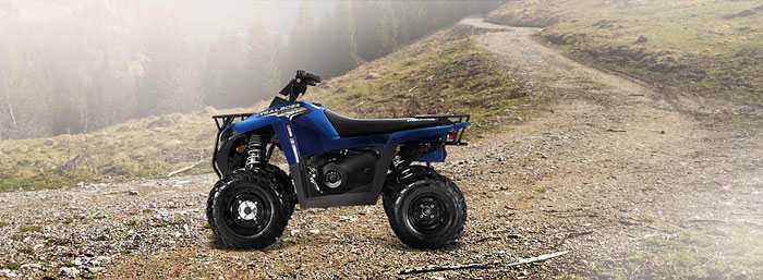 2013 Polaris Trail Boss 330 Boardwalk Blue