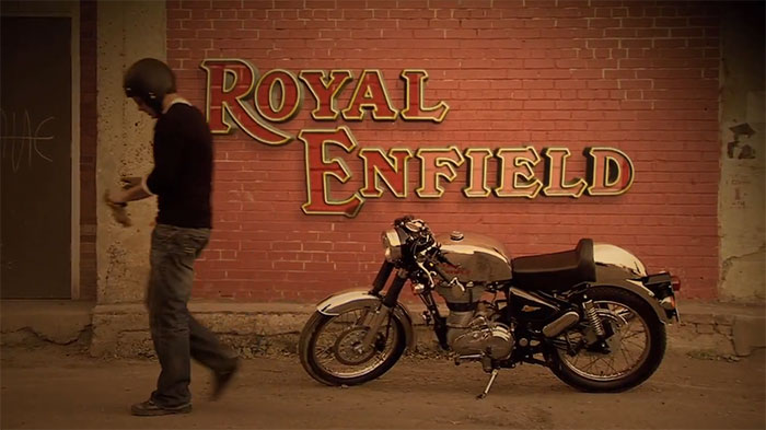2013 Royal Enfield Chrome Cafe Racer