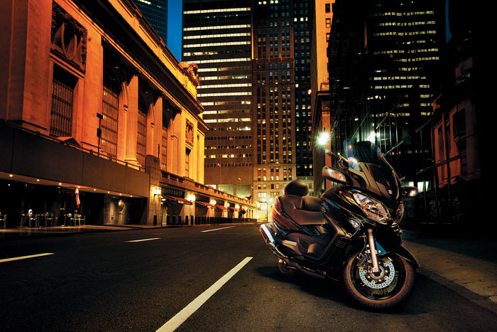 2013 Suzuki Burgman 650 Executive ABS