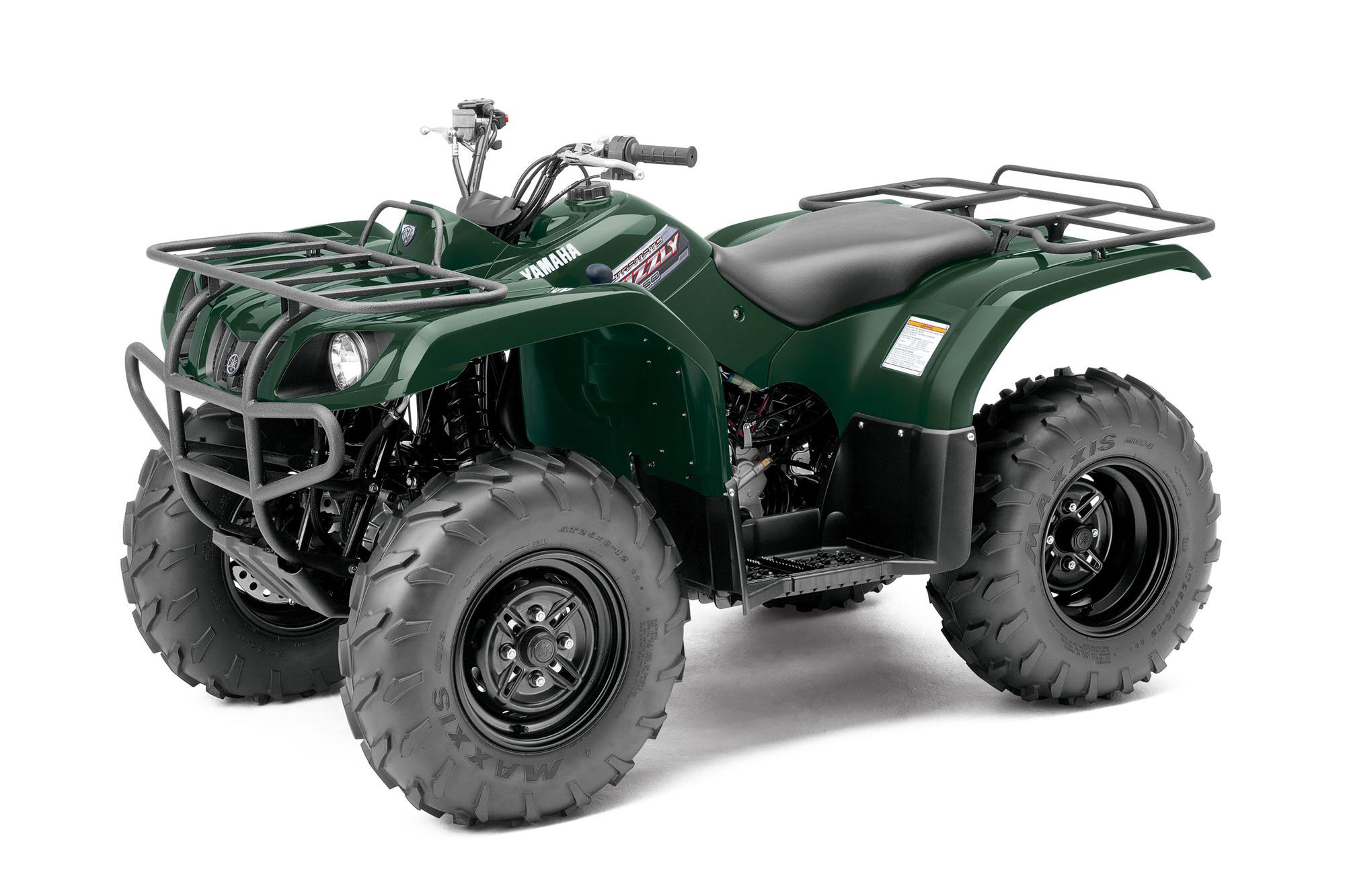 2013 Yamaha Grizzly 350 Auto 4x4 Review
