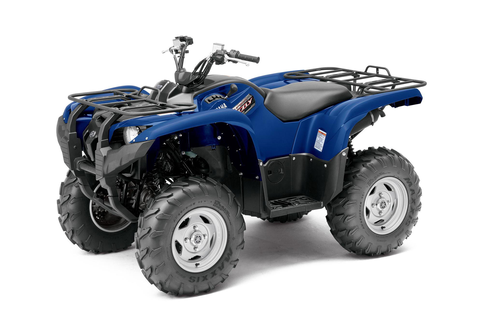 2013 yamaha grizzly 550 fi auto 4x4 eps review for Yamaha grizzly atv
