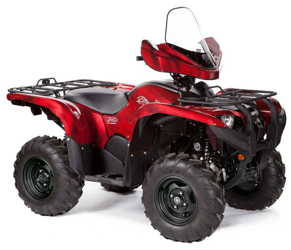 2013 yamaha grizzly 550 fi auto 4x4 eps le review. Black Bedroom Furniture Sets. Home Design Ideas