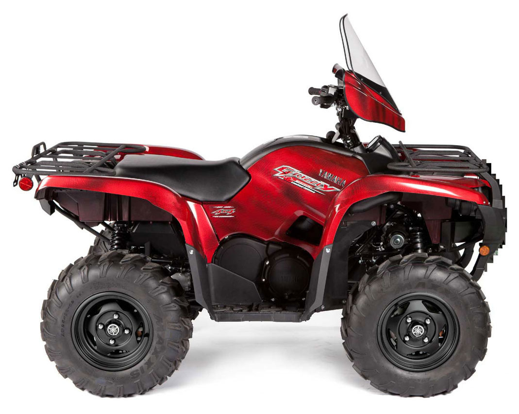 Yamaha Grizzly  Auto X Eps Review