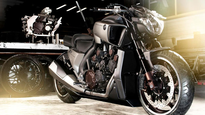 2013 Yamaha VMAX Hyper Modified Ludovic Lazareth