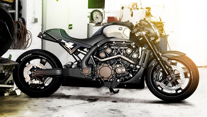 2013 Yamaha VMAX Hyper Modified Roland Sands Review