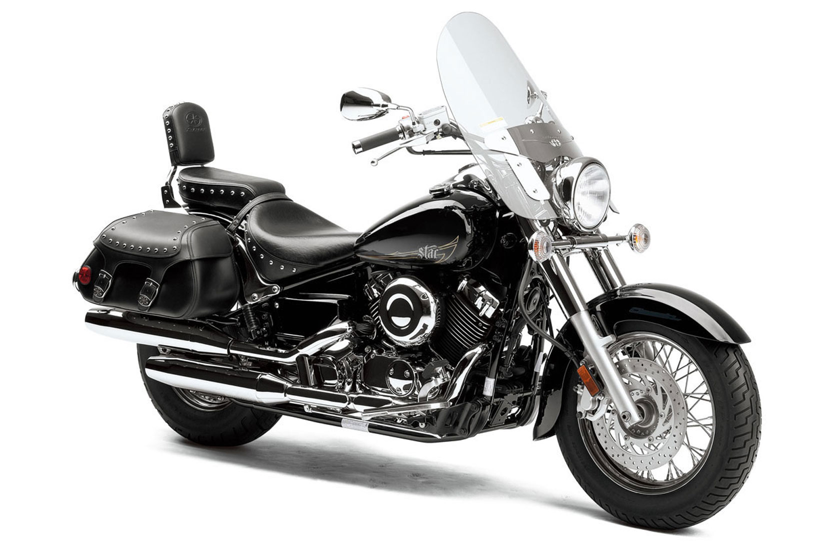 2013 Yamaha V Star 650 Custom Motorcycle Wallpaper   Wallpapers