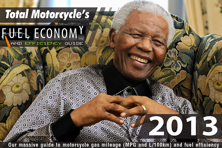 2013 Motorcycle MPG Fuel Economy Guide
