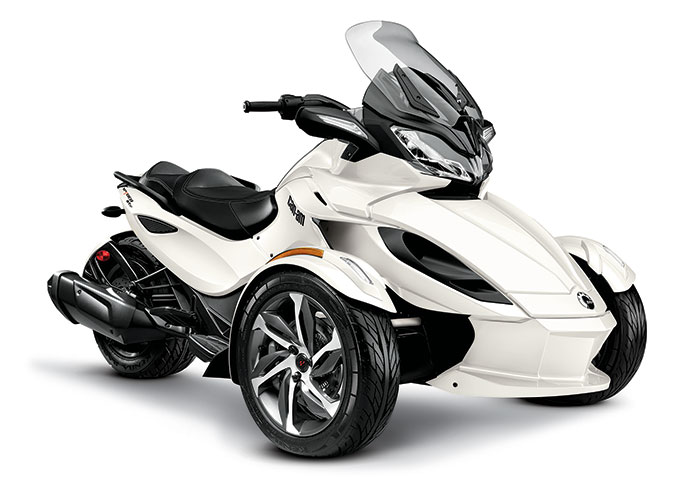 Back to 2014 Can-Am Spyder Model Review Page