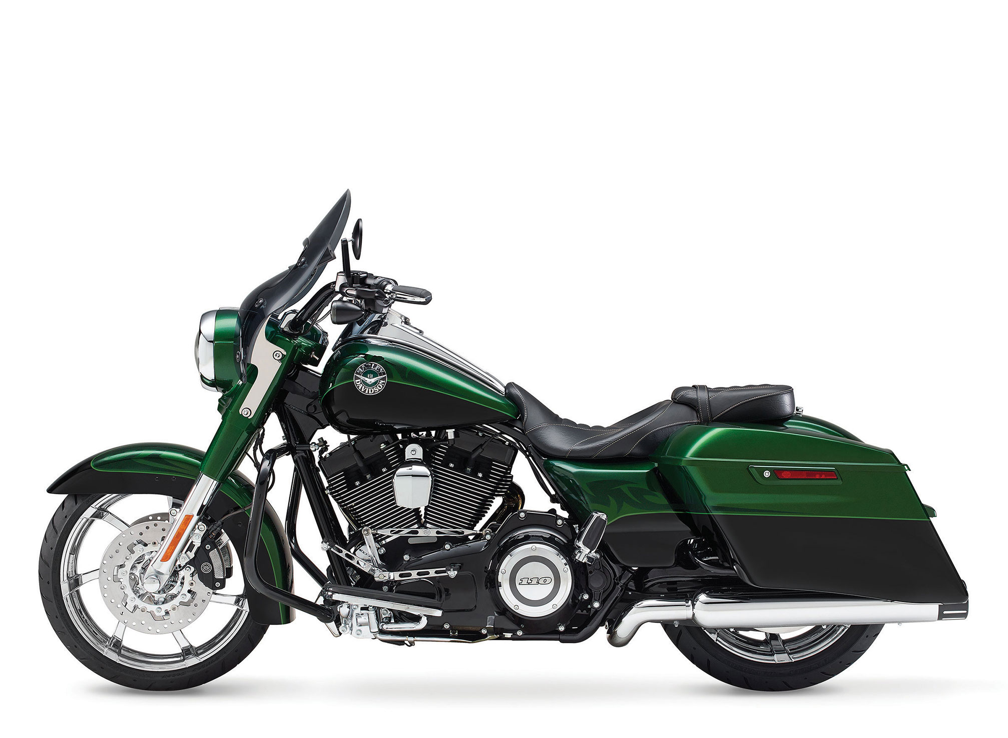 2014 Harley-Davidson FLHRSE5 CVO Road King Review