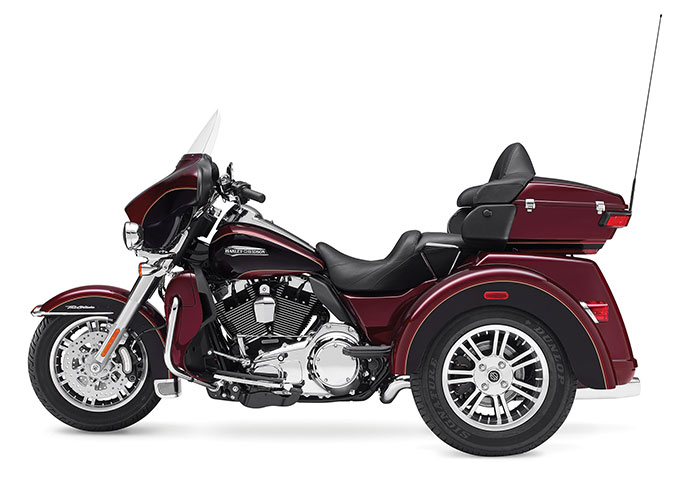 The 2016 Harley Davidson Tri Glide Ultra Provides Three: 2014 Harley-Davidson FLHTCUTG Tri Glide Ultra Classic Review