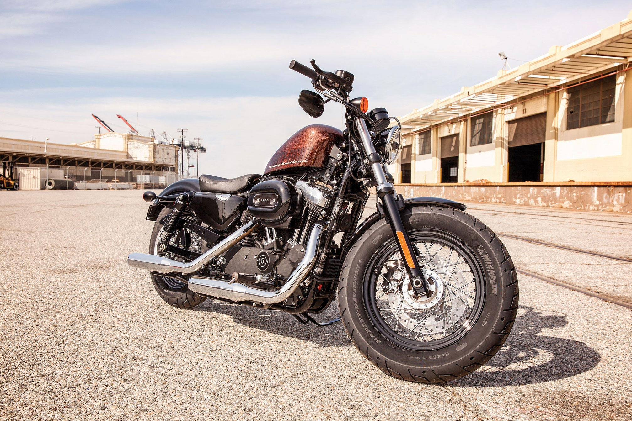 2014 Harley-Davidson XL1200X Forty-Eight Review