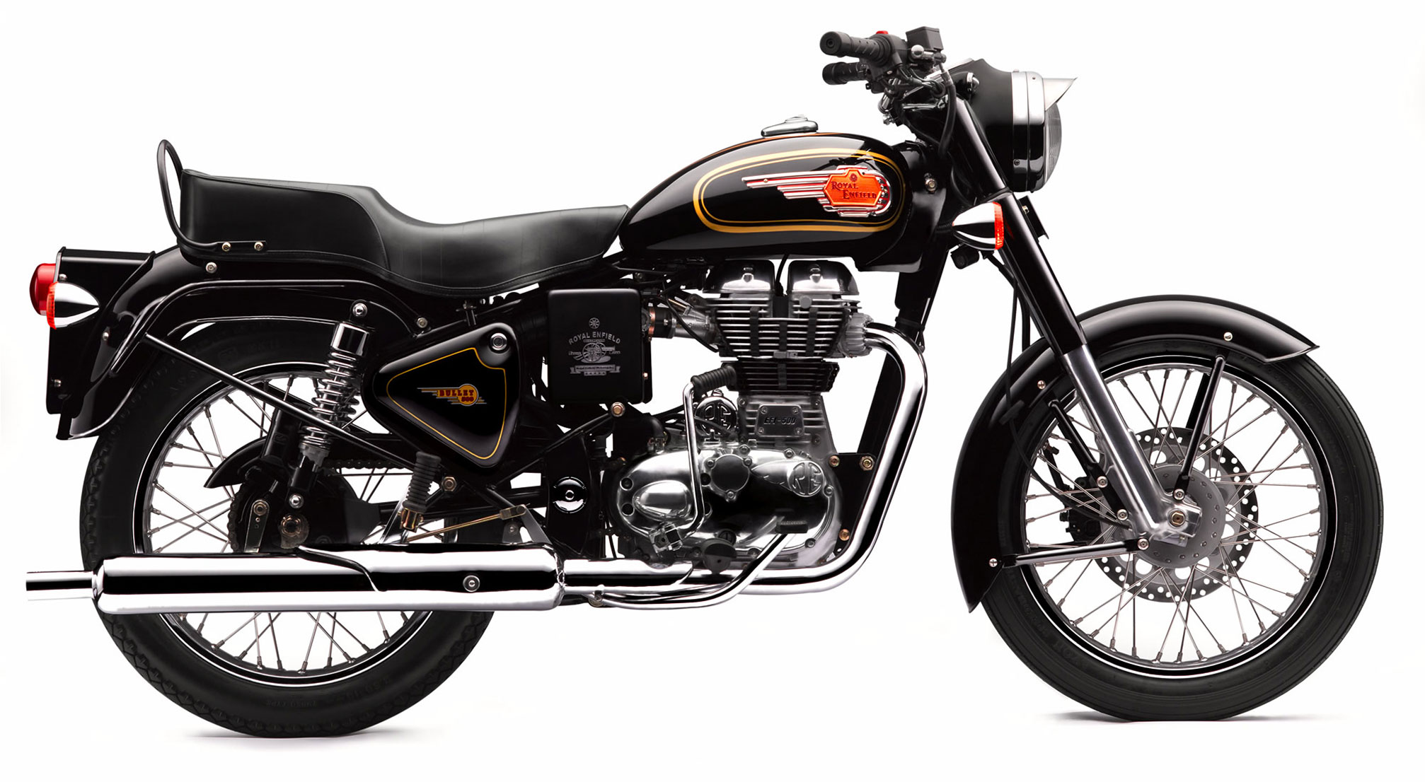 Royal enfield bullet pictures - 2014 Royal Enfield Bullet 500 B5