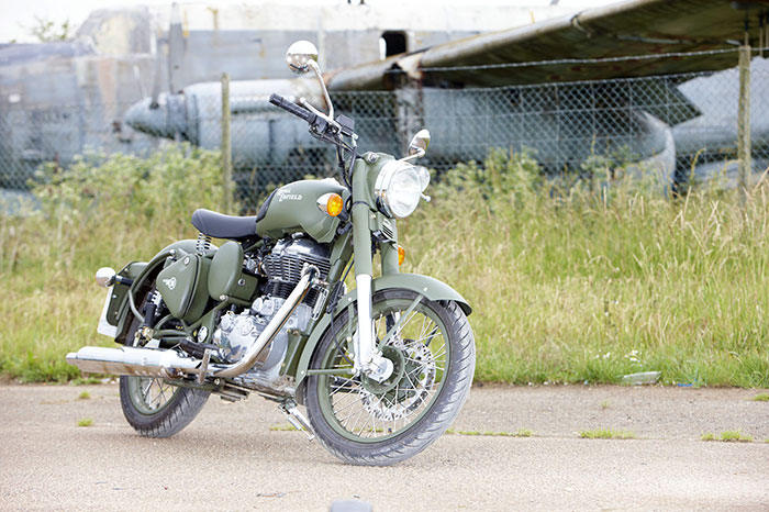 2014 Royal Enfield Bullet C5 Military