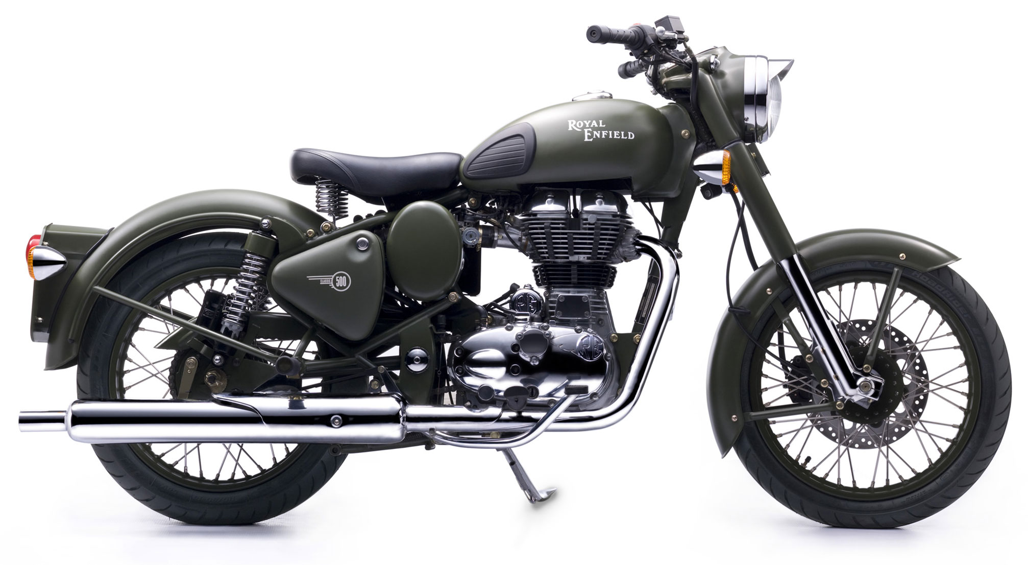 Royal enfield bullet pictures - 2014 Royal Enfield Bullet C5 Military