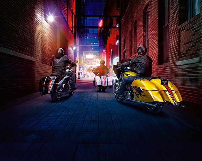 2014 Victory Cross Country Factory Custom