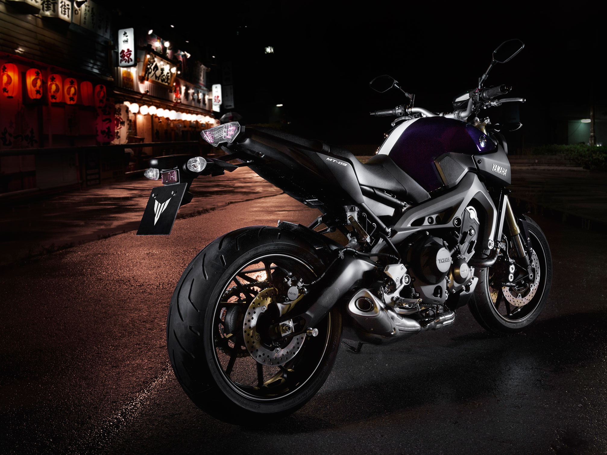 2014 yamaha mt 09 review for Mount holly powersports yamaha