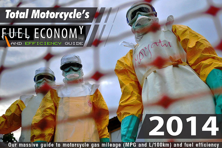2014 Motorcycle MPG Fuel Economy Guide