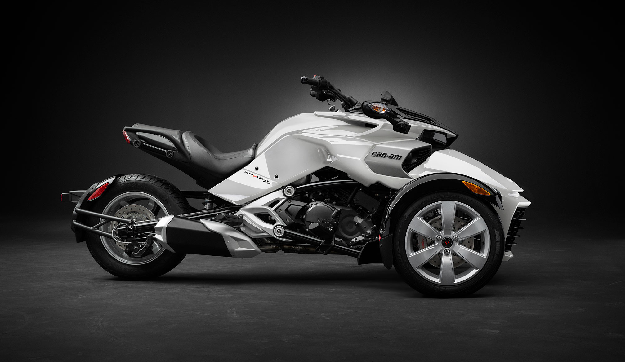 2015 can am spyder f3 review for Can am spyder motor