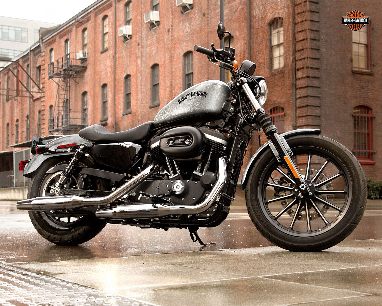 Harley 883 review