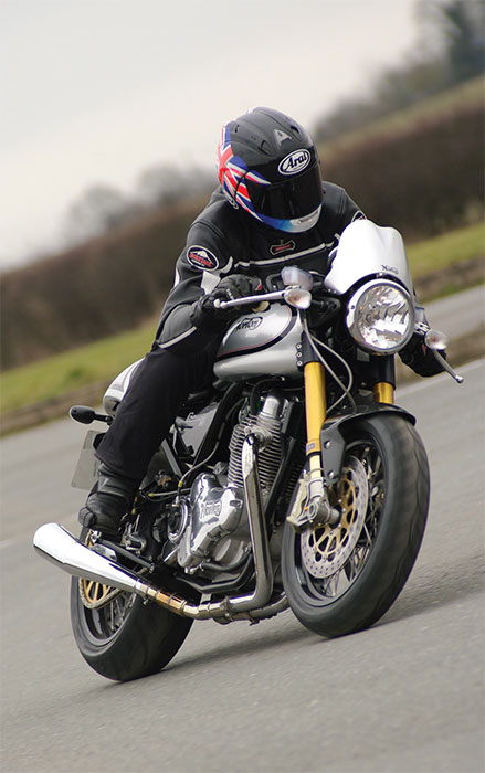 2015 Norton Commando 961 Cafe Racer