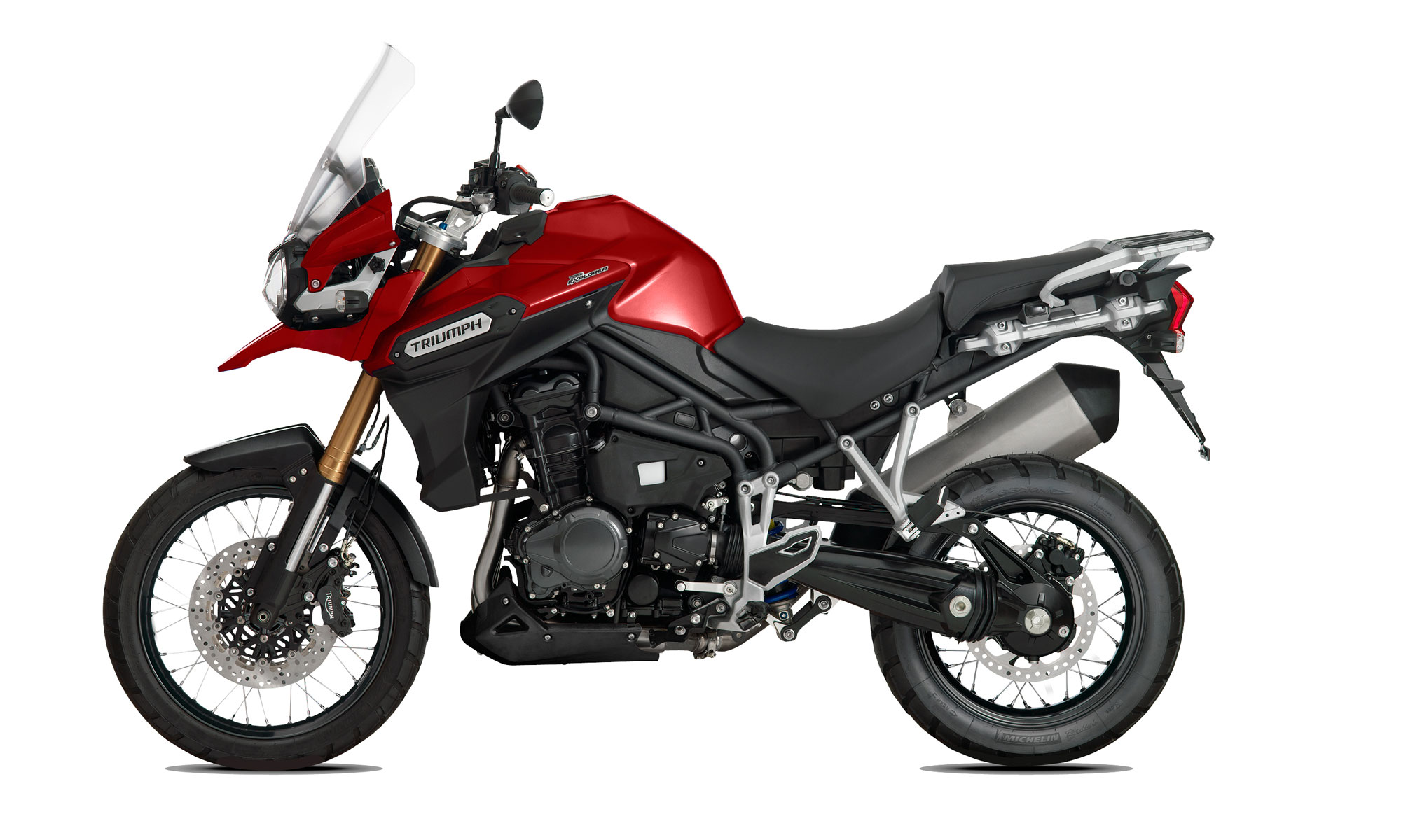 2015 Triumph Tiger Explorer Spoked Wheels Review