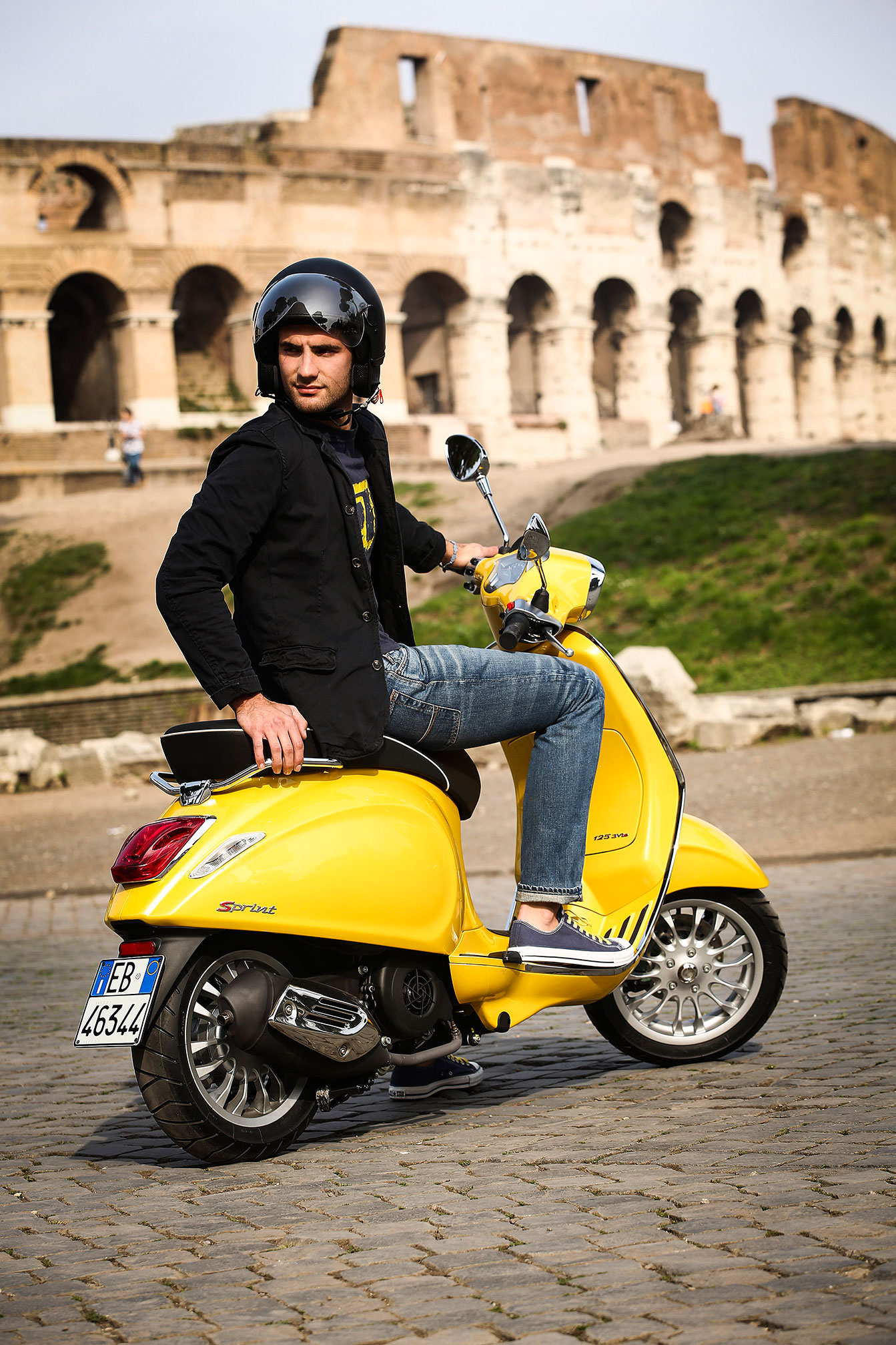 2015 Vespa Sprint 150 3v Abs Review
