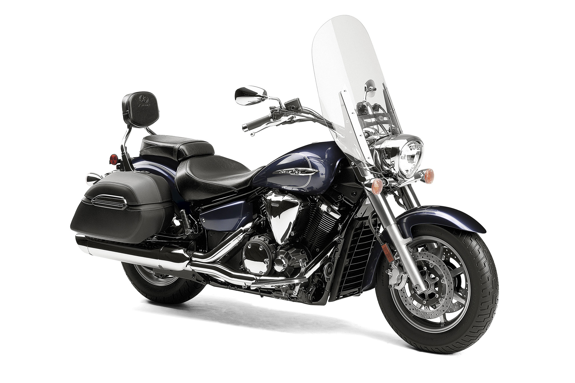 Yamaha V Star Tourer Windshield