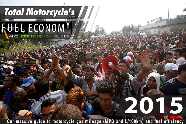2015 Motorcycle MPG Fuel Economy Guide