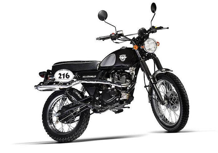 2016 Cleveland CycleWerks Ace Scrambler