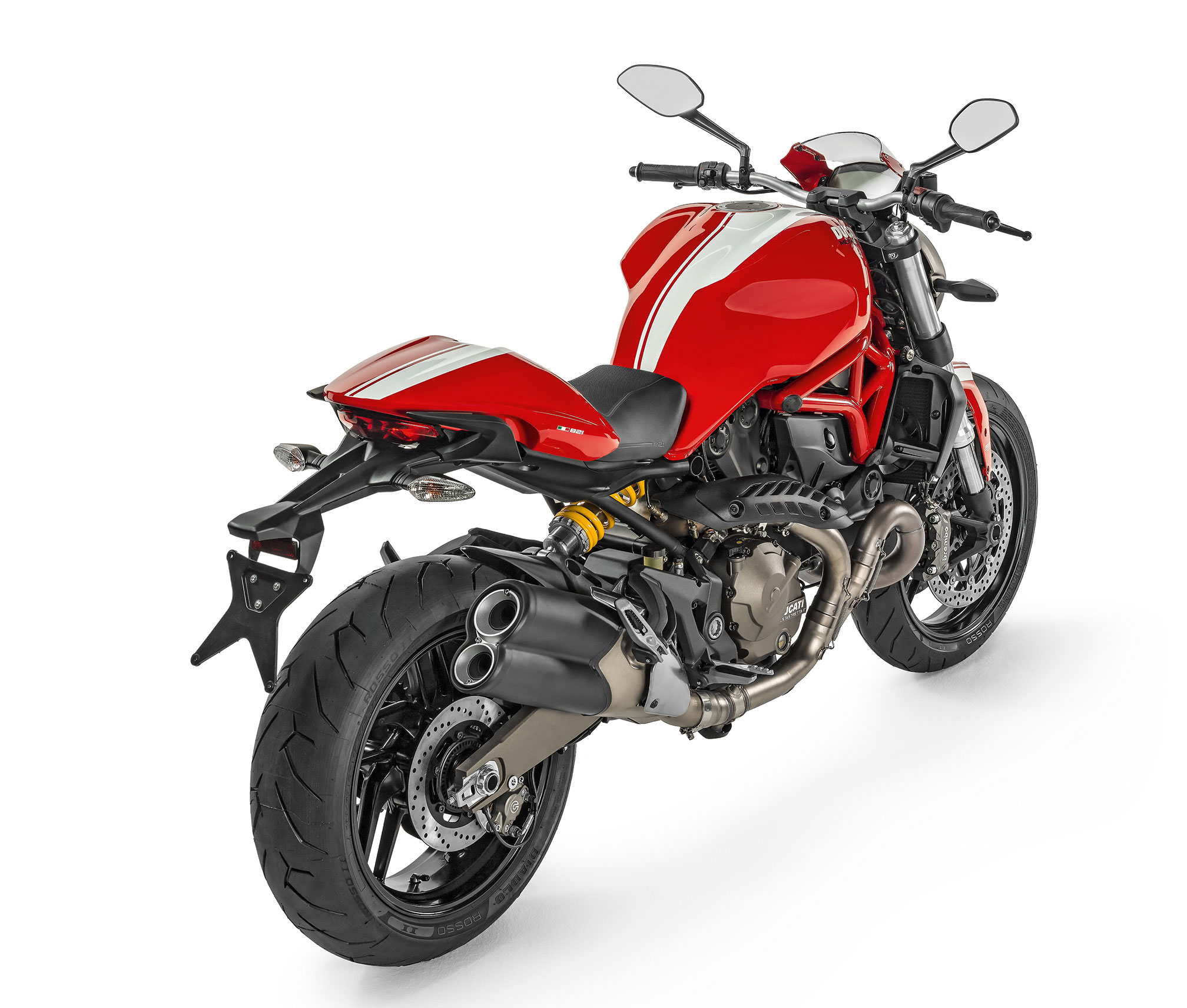 2016 ducati monster 821 stripe review for Monster advanced search