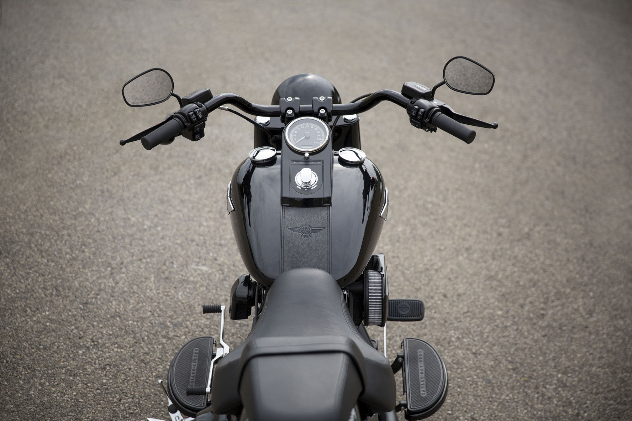 2016 harley-davidson fat boy s fat custom review