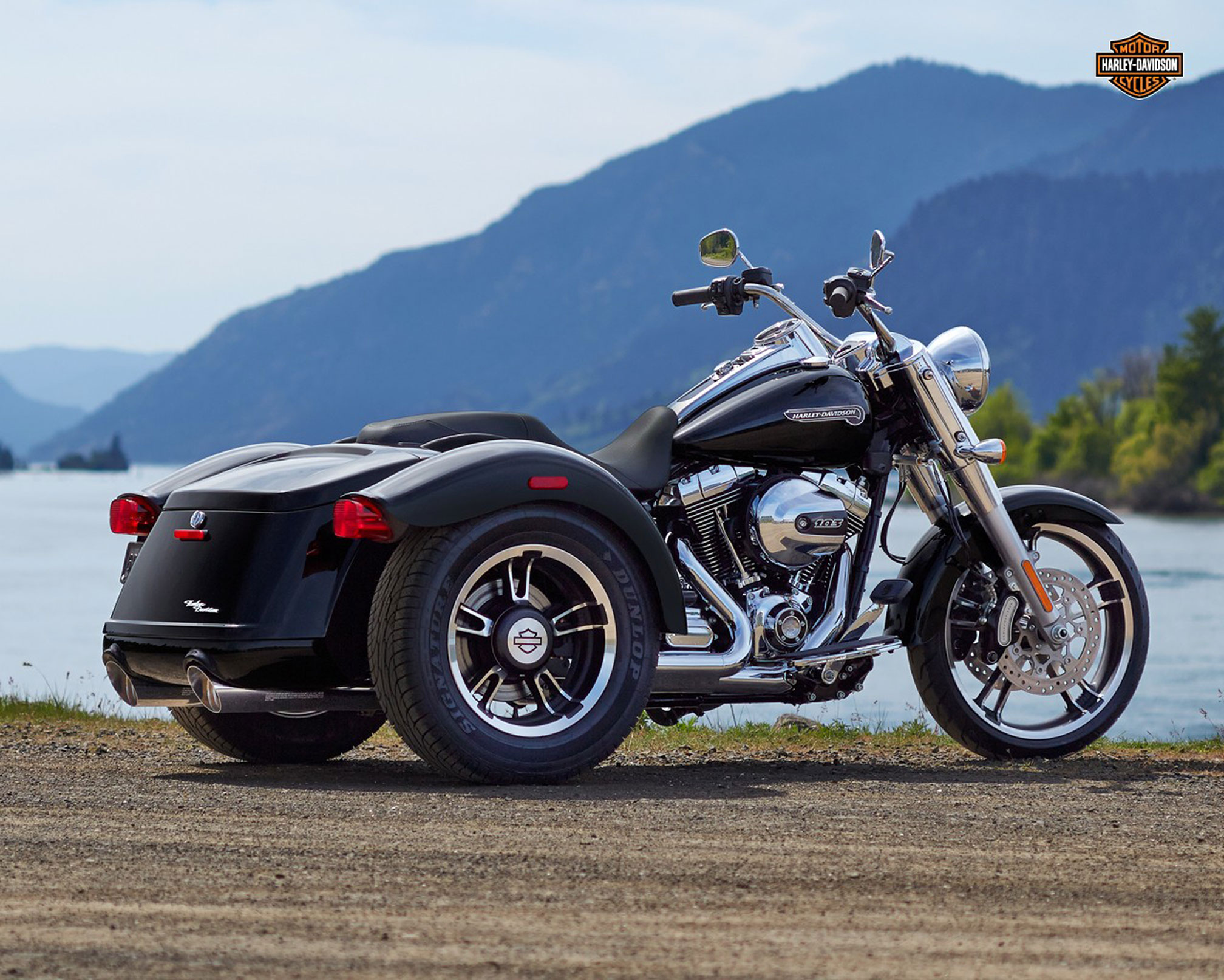 2016 Harley Davidson Trike Freewheeler Review