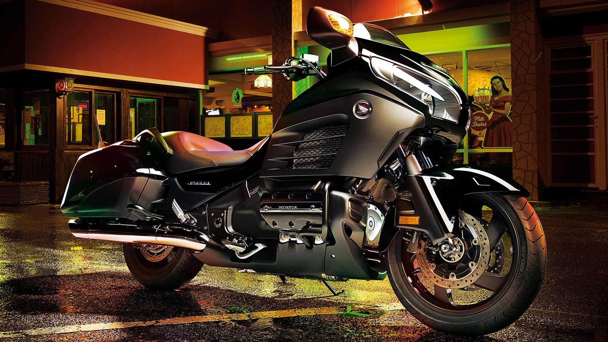 2016 Honda Gold Wing F6b Abs Review