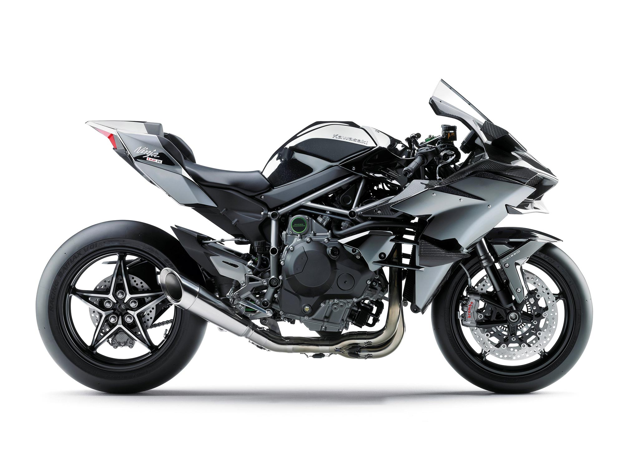 2016 kawasaki ninja h2r supercharged review. Black Bedroom Furniture Sets. Home Design Ideas